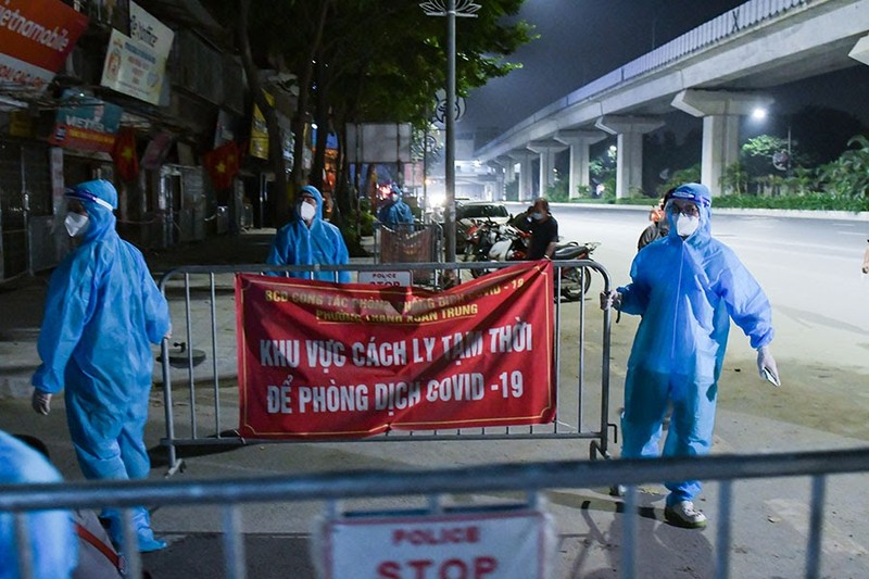 Hà Nội gỡ phong tỏa ổ dịch ngõ 328 Thanh Xuân Trung - ảnh 1