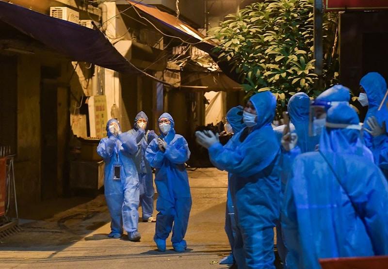 Hà Nội gỡ phong tỏa ổ dịch ngõ 328 Thanh Xuân Trung - ảnh 2