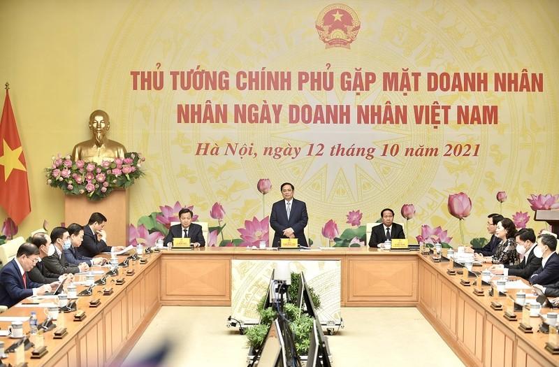 Thủ tướng Phạm Minh Chính gặp gỡ, tri ân cộng đồng doanh nghiệp - ảnh 1