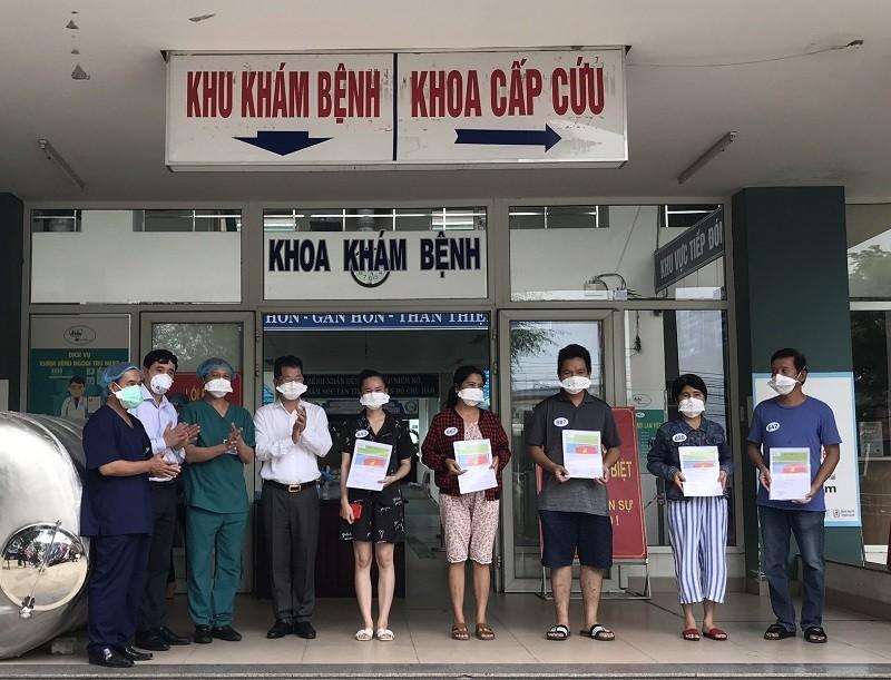Đà Nẵng: Thêm 5 bệnh nhân COVID-19 khỏi bệnh  - ảnh 1