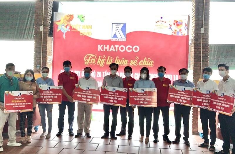 Hỗ trợ 20 tấn gạo cho Đà Nẵng và tỉnh Quảng Nam - ảnh 1