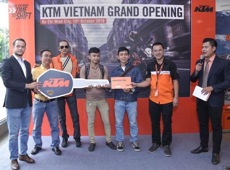 Hãng mô tô KTM công bố nhà cung cấp độc quyền tại VN - ảnh 3