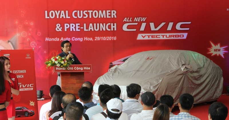 Honda Cộng Hòa tri ân khách hàng và ra mắt Civic 2017 - ảnh 2