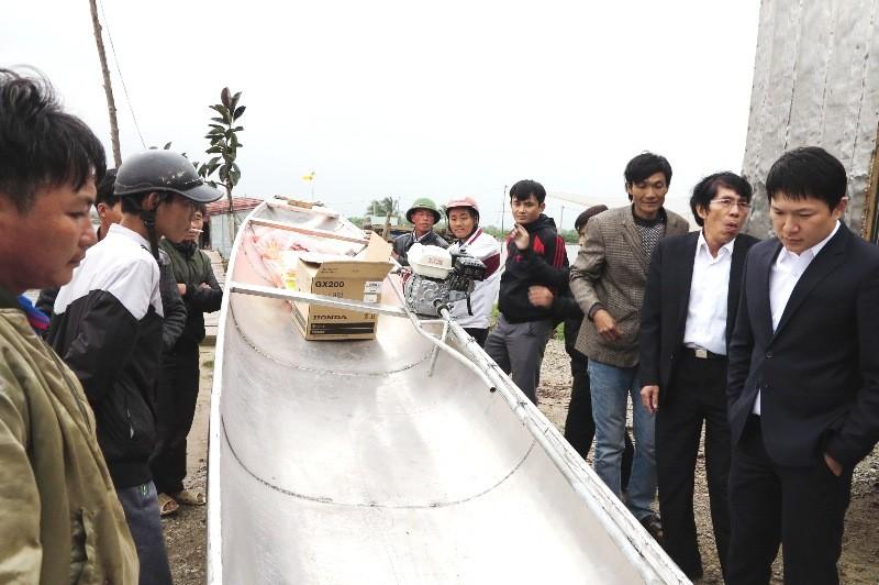 Toyota tặng 3 thuyền cứu hộ cho đồng bào Quảng Bình - ảnh 3