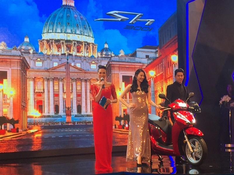 Honda ra mắt siêu phẩm SH300i nhập khẩu từ Ý - ảnh 1