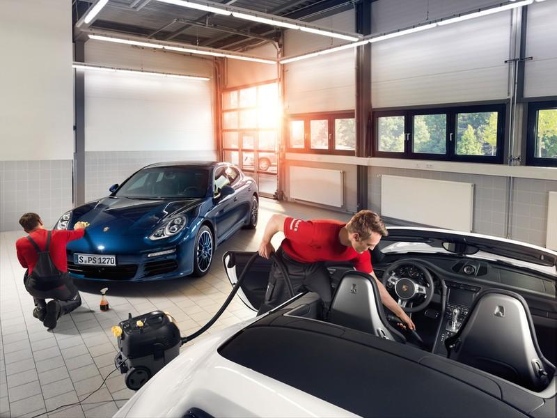 Porsche ưu đãi dịch vụ làm đẹp xe cuối năm - ảnh 1