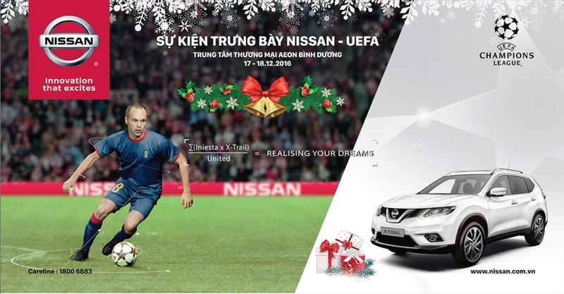 Cùng Nissan UEFA đón tuần lễ Giáng sinh – Năm mới 2017 - ảnh 1
