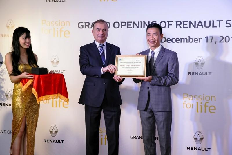 Khai trương đại lý 3S Renault Sơn Lâm Hải Phòng - ảnh 2