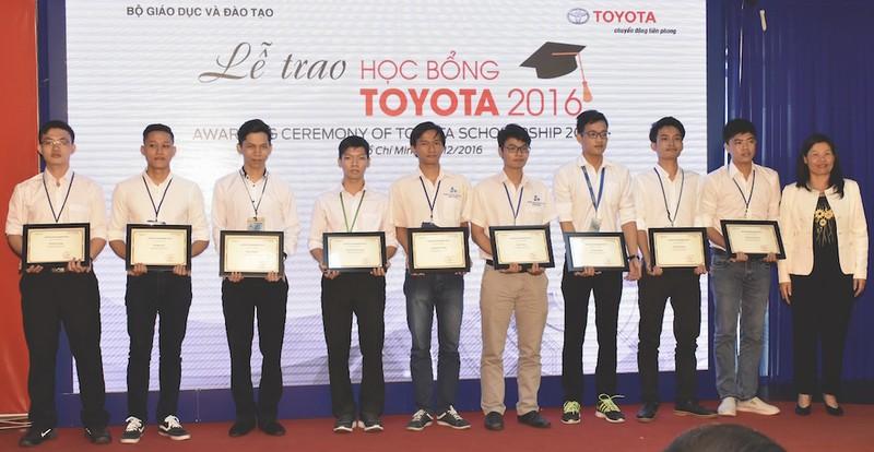 Toyota trao 115 học bổng cho sinh viên - ảnh 1