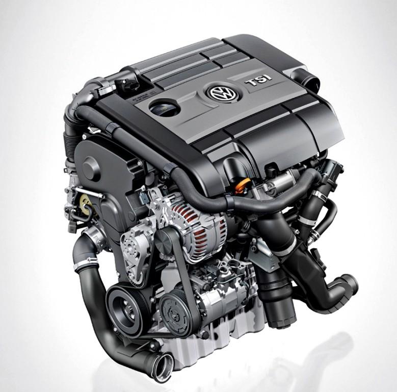 Volkswagen: động cơ TSI