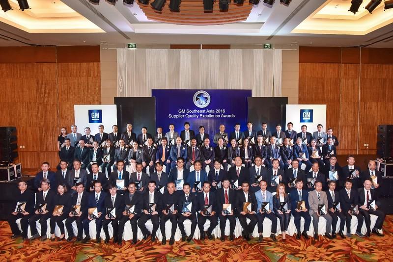 GM vinh danh các nhà cung cấp xuất sắc Đông Nam Á - ảnh 1