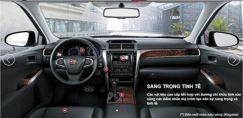 Toyota ra mắt Camry mới 2017 - ảnh 7