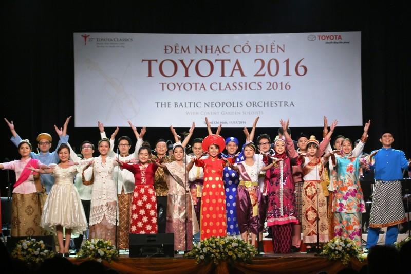 Đêm nhạc cổ điển Toyota bắt đầu ở Thái, kết thúc ở VN - ảnh 1