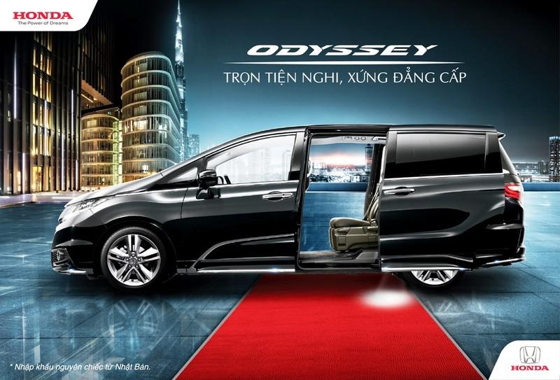 Honda Odyssey 2017 'Trọn tiện nghi, xứng đẳng cấp' - ảnh 1