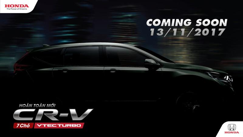 Honda hé lộ mẫu CR-V thế hệ mới bảy chỗ - ảnh 1