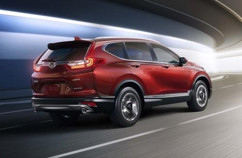 Honda hé lộ mẫu CR-V thế hệ mới bảy chỗ - ảnh 3