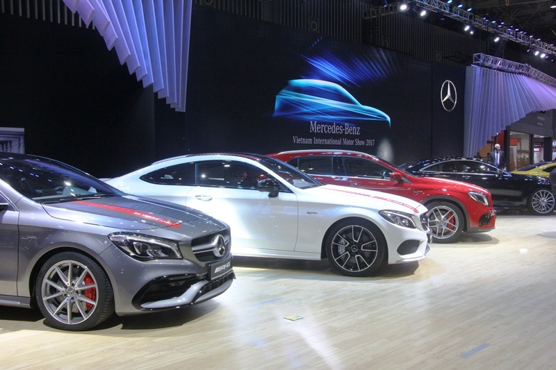 VIMS: Khó rời mắt khỏi gian hàng của Mercedes-Benz - ảnh 1