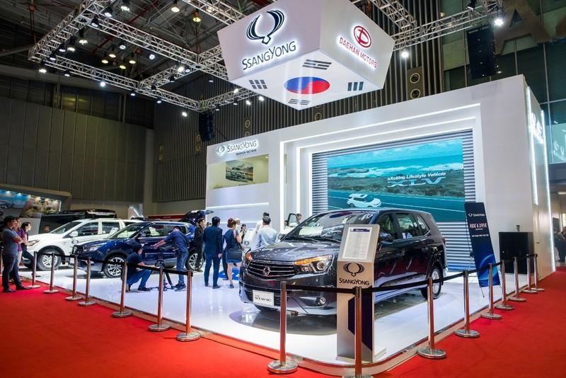 Những mẫu SUV thể thao, sang trọng của SsangYong ở VIMS - ảnh 1