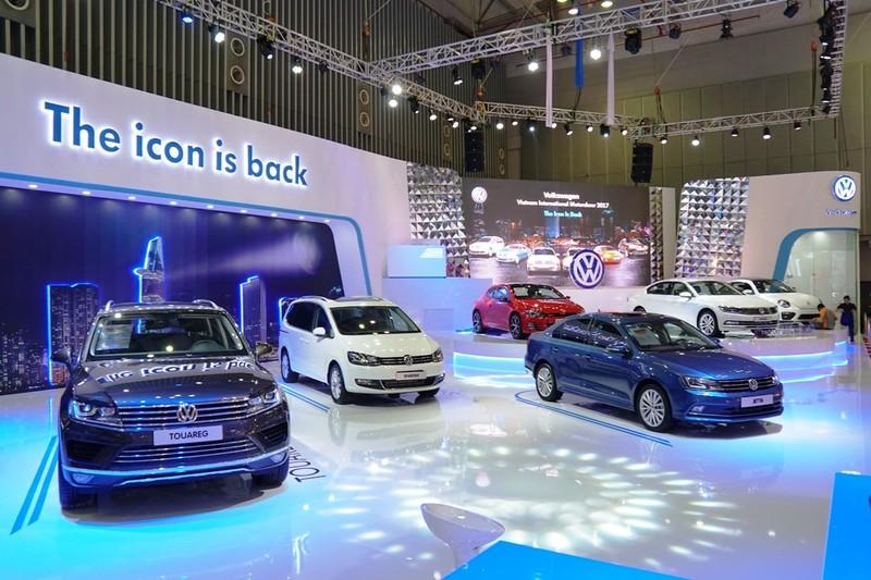 Ghé thăm xe sang & sexy của hãng Volkswagen - ảnh 1