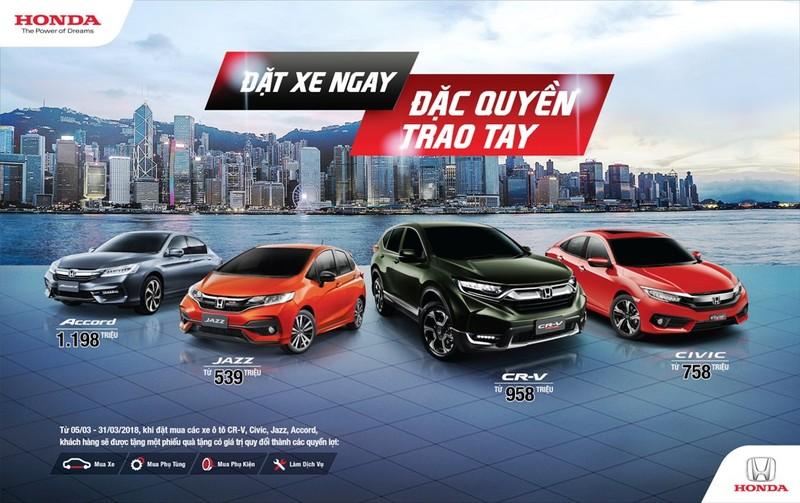Honda công bố giá 4 mẫu xe nhập khẩu từ Thái Lan - ảnh 1