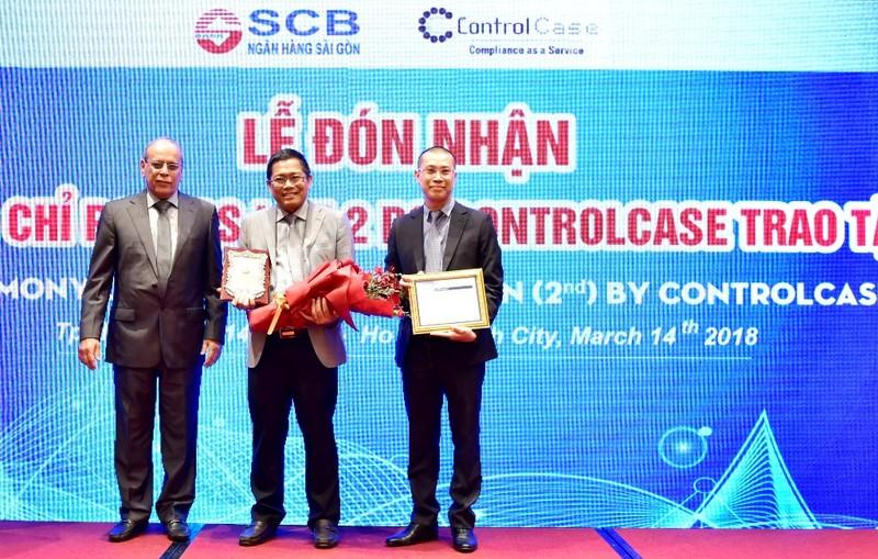 SCB nhận chứng chỉ PCI DSS và giải thưởng STP Award - ảnh 1