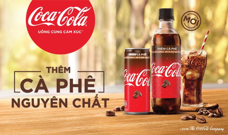 Coca-Cola thêm cà phê nguyên chất - ảnh 1