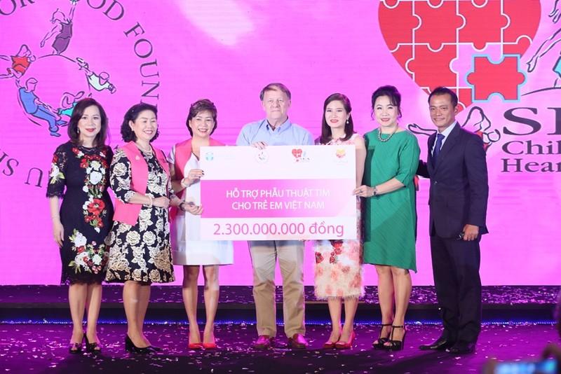 """Nu Skin tặng 2,3 tỷ đồng cho """"Nhịp tim Việt Nam"""" - ảnh 1"""