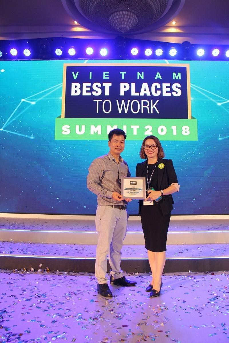 LOTTE Mart - nơi làm việc tốt nhất Việt Nam - ảnh 2