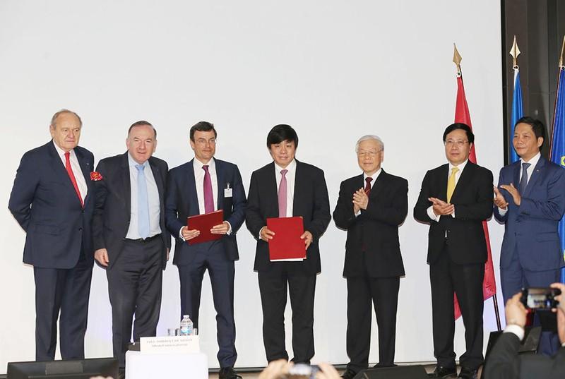 Vietjet ký hợp đồng trị giá 7,3 tỉ đô với Pháp - ảnh 1