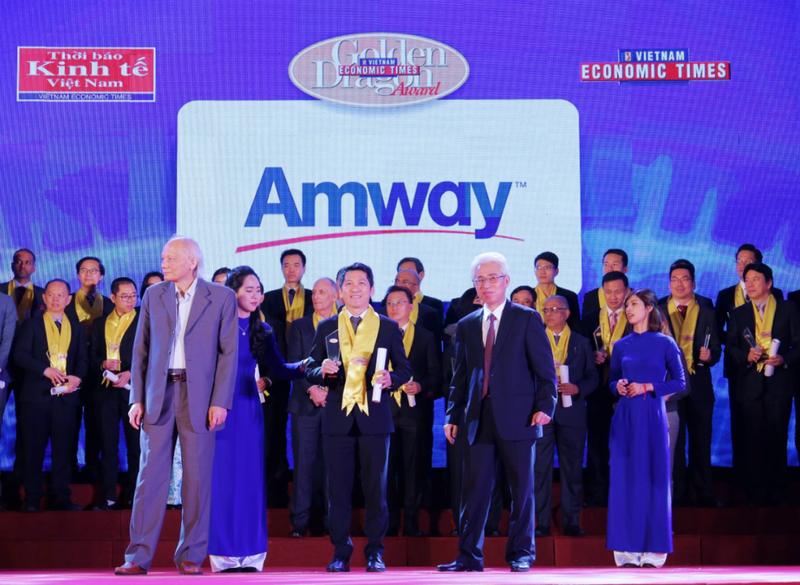 Amway Việt Nam lần thứ 4 nhận giải thưởng Rồng Vàng 2018 - ảnh 1