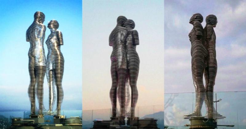 Việt Nam sẽ có bức tượng tình nhân 'biết đi' nổi tiếng Gruzia - ảnh 2