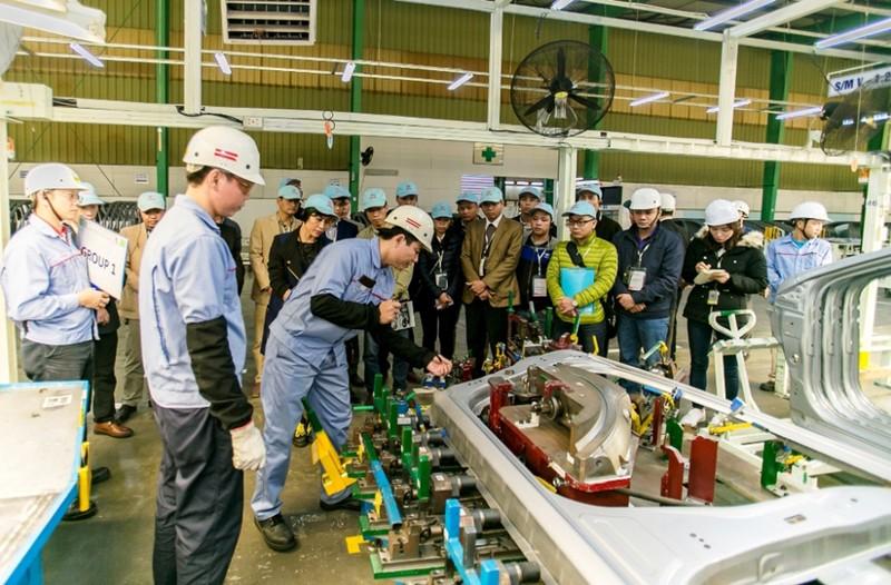 Toyota Việt Nam triển khai chương trình Monozukuri năm 2018 - ảnh 1