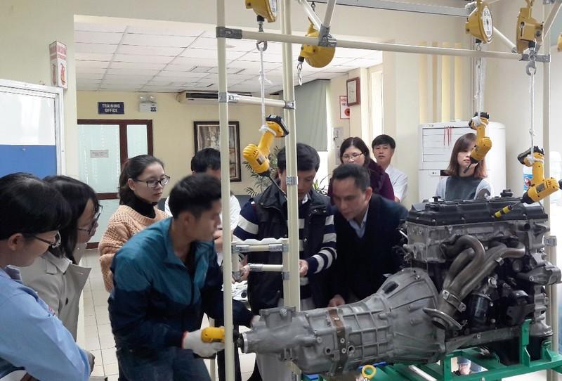 Toyota Việt Nam triển khai chương trình Monozukuri năm 2018 - ảnh 2