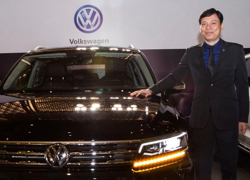 Volkswagen trưng bày 7 mẫu xe tại Vietnam Motor Show 2018 - ảnh 1