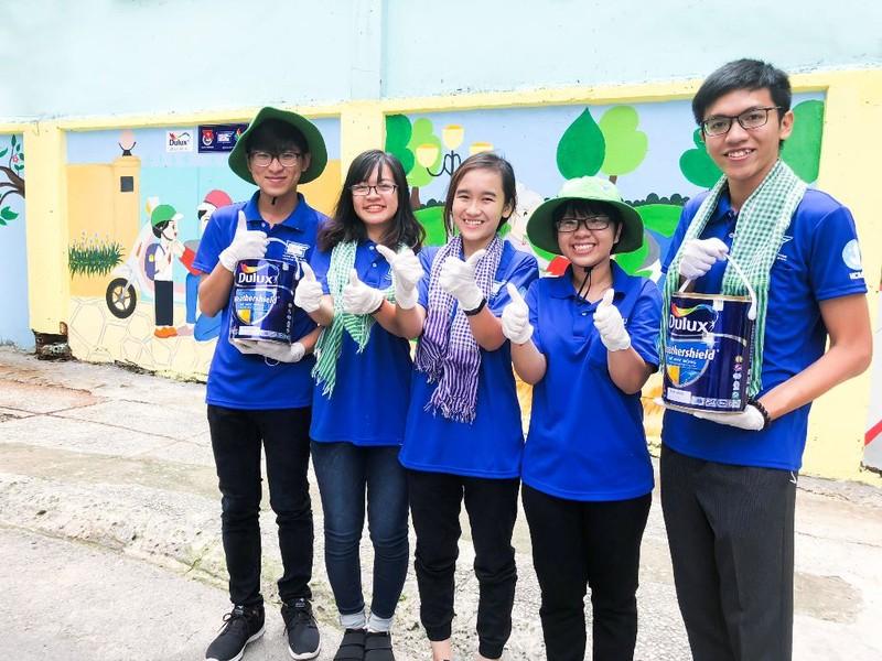 AkzoNobel Việt Nam đồng hành làm mới diện mạo thành phố - ảnh 1