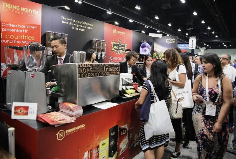 King Coffee tham gia lễ hội cà phê Coffee Fest ở Mỹ - ảnh 1