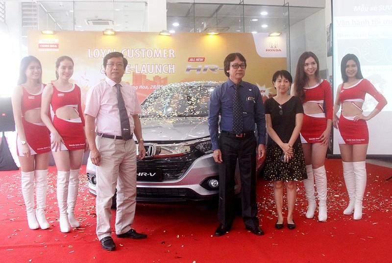 Honda Cộng Hòa giới thiệu mẫu xe HR-V và nhận cọc - ảnh 2