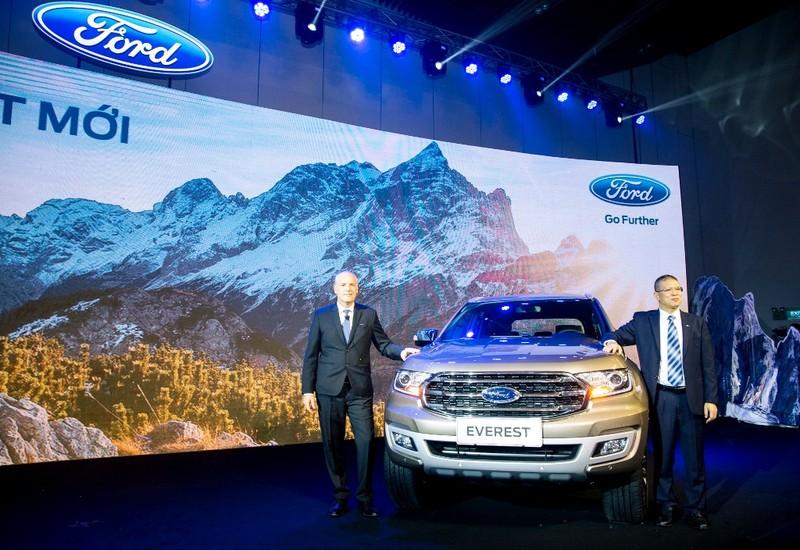Ford Everest mới: động cơ diesel Bi-Turbo, hộp số 10 cấp - ảnh 1