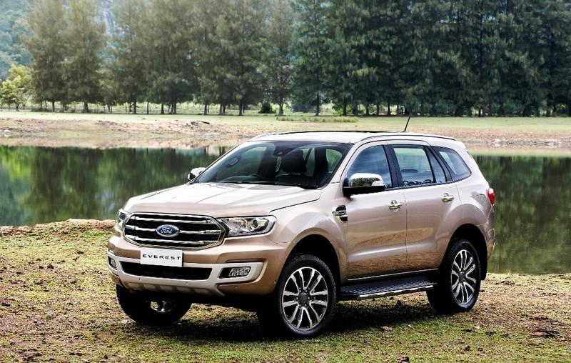 Ford Everest mới: động cơ diesel Bi-Turbo, hộp số 10 cấp - ảnh 2