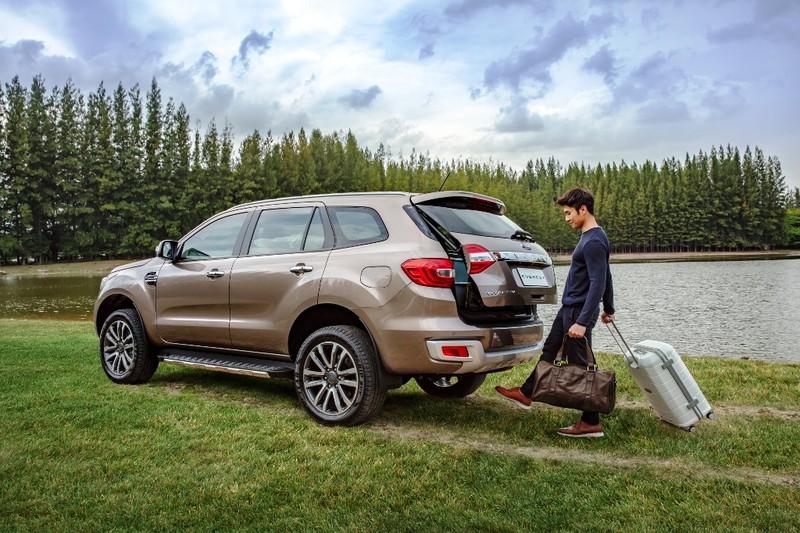 Ford Everest mới: động cơ diesel Bi-Turbo, hộp số 10 cấp - ảnh 4