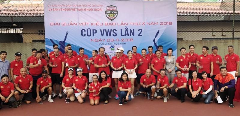 Khai mạc giải quần vợt Kiều bào lần thứ 10 - Cúp VWS 2018 - ảnh 1