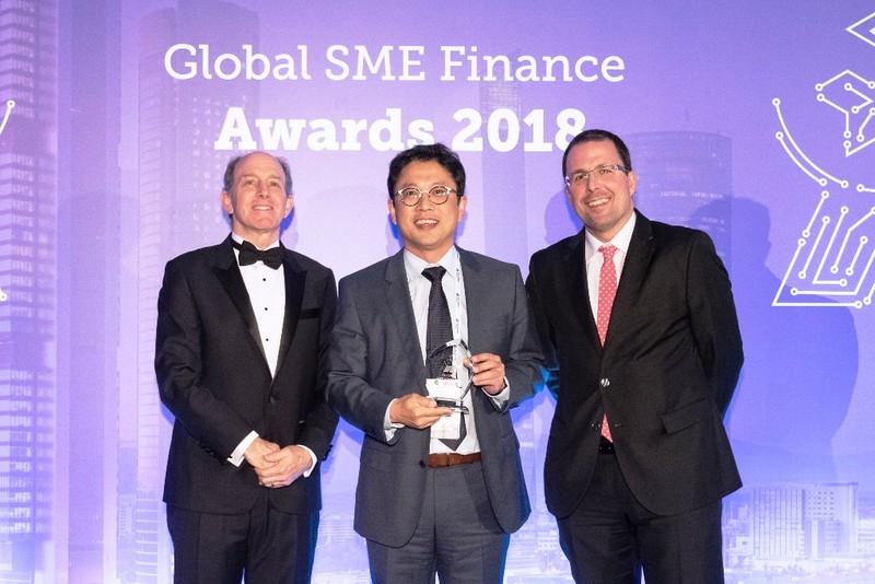 IFC vinh danh dịch vụ tốt nhất dành cho SME của VPBank - ảnh 1