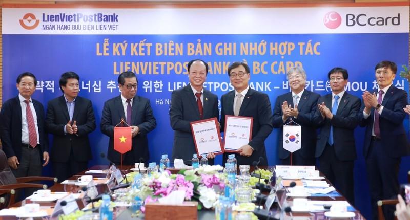 LienVietPostBank và BC Card ký ghi nhớ hợp tác - ảnh 1