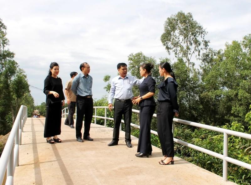 VWS ủng hộ 120 triệu đồng xây cầu nông thôn ở Long An - ảnh 2