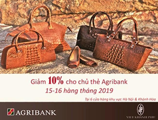 Có thẻ Agribank - Thỏa sức mua sắm - ảnh 1