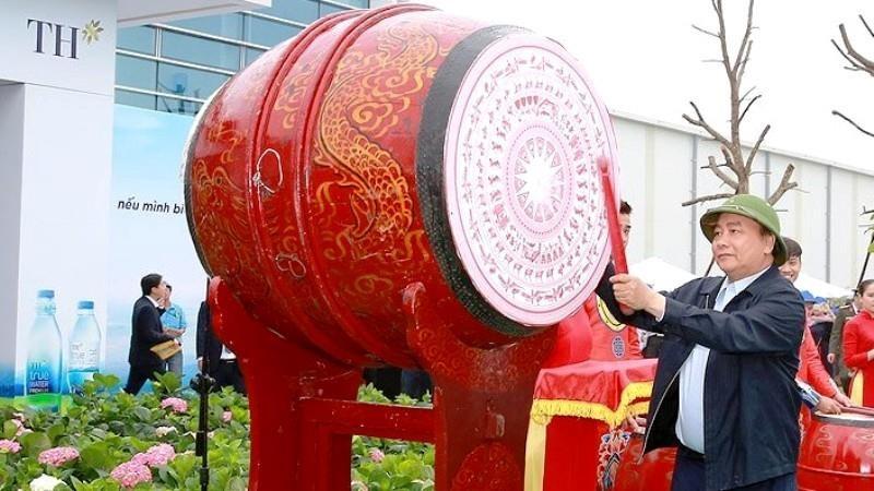 Tập đoàn TH tặng 21.000 cây dổi xanh cho Nghệ An - ảnh 1