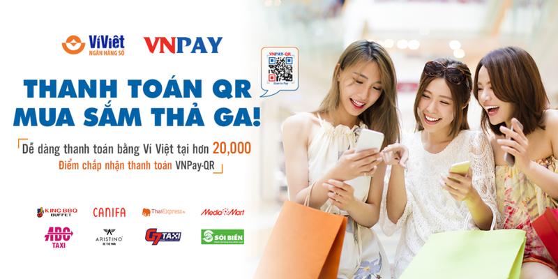 Ví Việt: Thanh toán QR – Mua sắm thả ga - ảnh 1