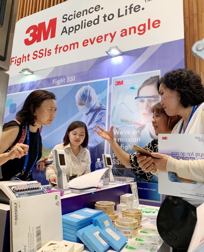 3M giúp giảm nhiễm trùng bệnh viện và phẫu thuật - ảnh 1