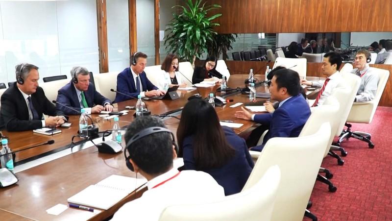 Giám đốc Điều hành VISA thăm Techcombank - ảnh 2