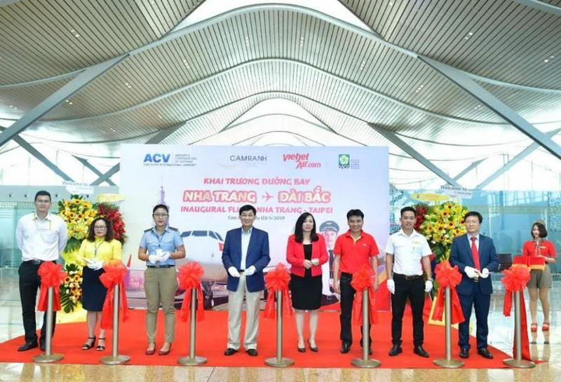 Vietjet khai trương đường bay quốc tế Nha Trang – Đài Bắc - ảnh 1